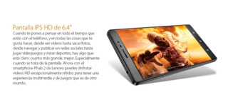 Smartphone Lenovo Phab2 6.4 Pulgad Desbloqueado Telcel Movi