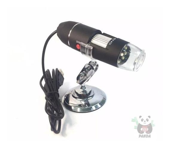 Microscópio Digital Usb 1600x Zoom Camera 2.0mp Profissional