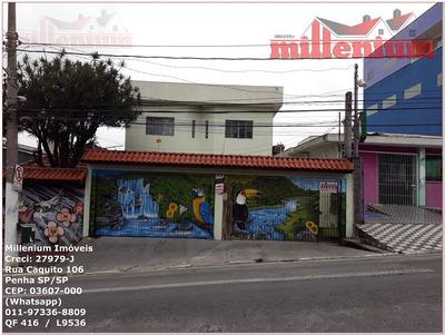 Casa Para Aluguel, 2 Dormitórios, Penha De França - São Paulo - 416