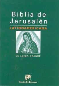 Biblia De Jerusalén Latinoamericana Letra Grande