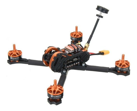 Drone Racer Profissional Novo Perfeito Completo + Câmera