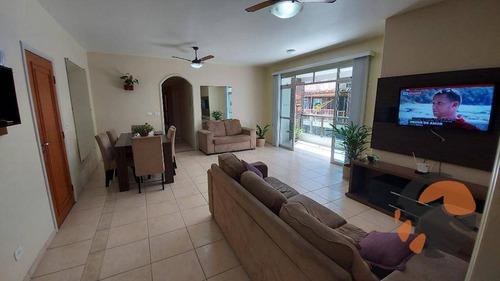 Apartamento Com 3 Dormitórios À Venda, 156 M² Por R$ 850.000,00 - Centro - Guarapari/es - Ap3600