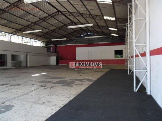 Galpão À Venda, 820 M² Por R$ 2.500.000,00 - Socorro - São Paulo/sp - Ga0061