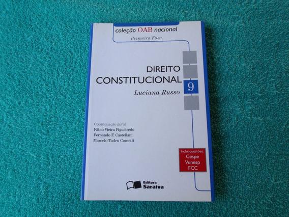 Direito Constitucional / Livro (coleção Oab Nacional)