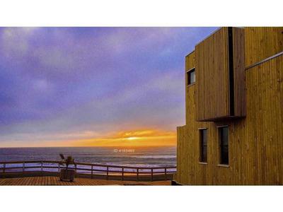 Cabañas Nuevas En Condominio Con Acceso Directo A La Playa.  Infiernillo   Pichilemu (sin Comisión)