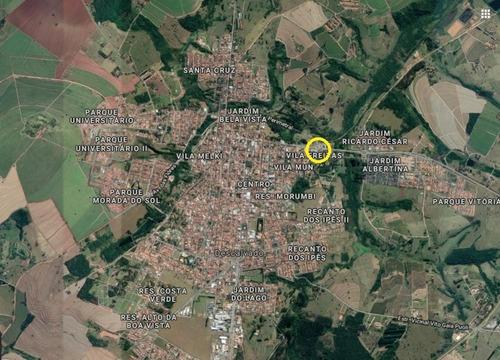 Otimo Terreno Para Venda Em Descalvado-sp Na Vila Freitas, Com 2.076 M2, Uso Misto, Comercial, Residencial E Prédio - Te00510 - 68782103