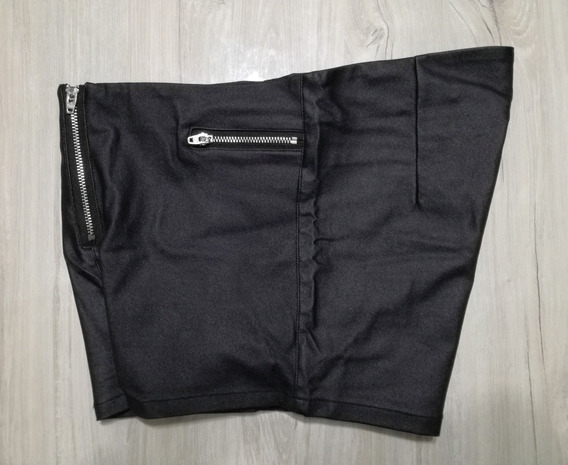 Short Coated Black Ona Saez Cierres- Talle 2 - Impecable