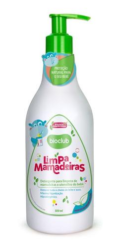 Imagem 1 de 6 de Limpa Mamadeiras Detergente Organico Desengordurante Bioclub