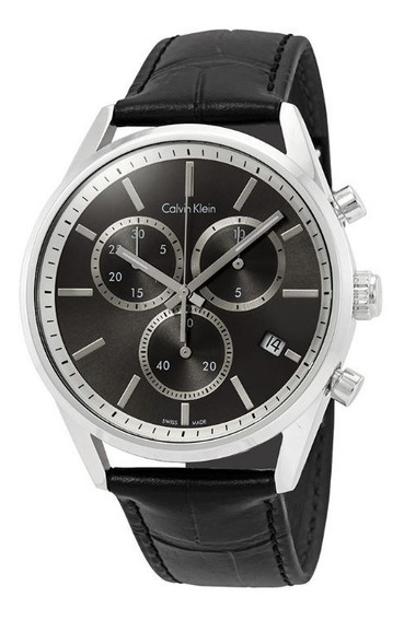 Relógio Masculino Calvin Klein Mod. K4m271c3 Original