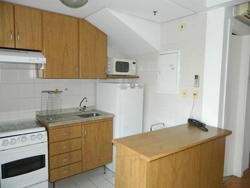 Flat Residencial Para Locação, Moema, São Paulo - Fl1167. - Fl1167