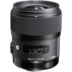Lente Sigma Dg 35mm F/1.4 Hsm Arte Para Pentax