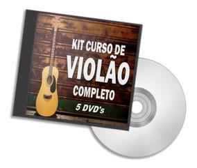 Curso Violão Iniciantes Vídeo Aulas Em 5 Dvds Frete Grátisaj