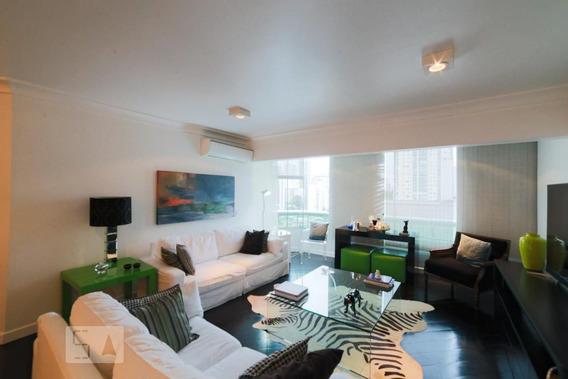 Apartamento No 12º Andar Mobiliado Com 3 Dormitórios E 4 Garagens - Id: 892973304 - 273304