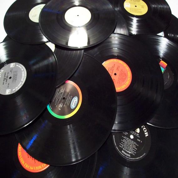 Lote Discos Vinilo Long Play 30cm Decoracion Caba Envios