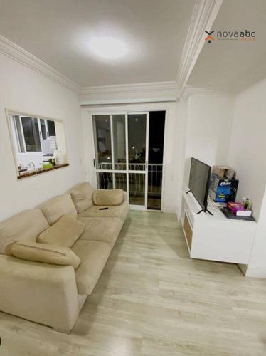 Imagem 1 de 30 de Apartamento Com 2 Dormitórios À Venda, 64 M² Por R$ 480.000 - Jardim - Santo André/sp - Ap3751