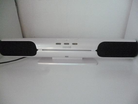 Maxell Speaker Mxsp 1200 Dock iPod iPhone Mp3 Frete Grátis