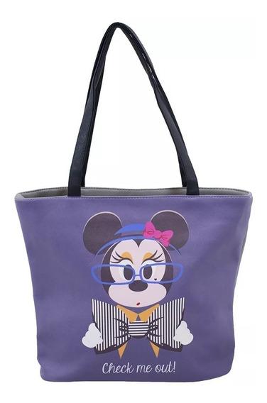Bolsa Minnie Chique Disney Original E Licenciada