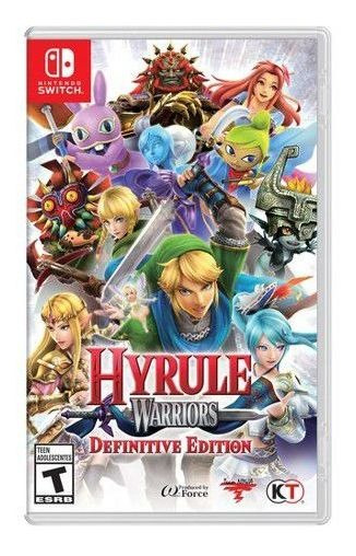 Jogo Hyrule Warriors Nintendo Switch Novo Lacrado