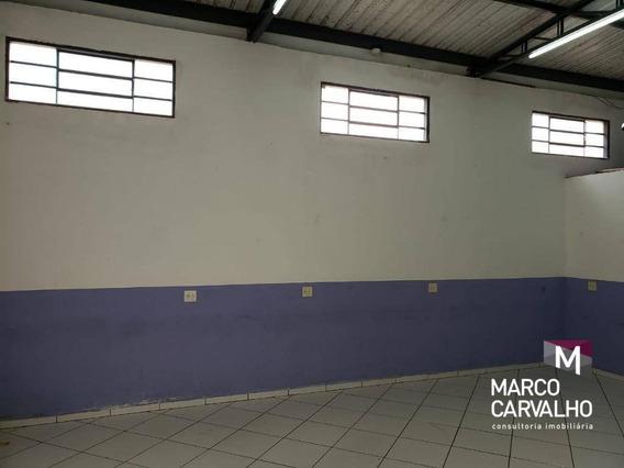 Salão À Venda, 60 M² Por R$ 120.000 - Jardim Marajó - Marília/sp - Sl0013