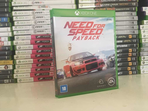 Need For Speed Pay Back Xbox One Em Cd
