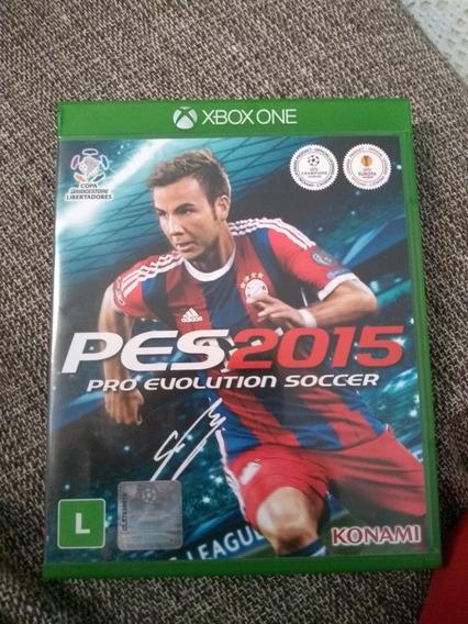 Pes 2015 - Xbox One Original Em Mídia Física