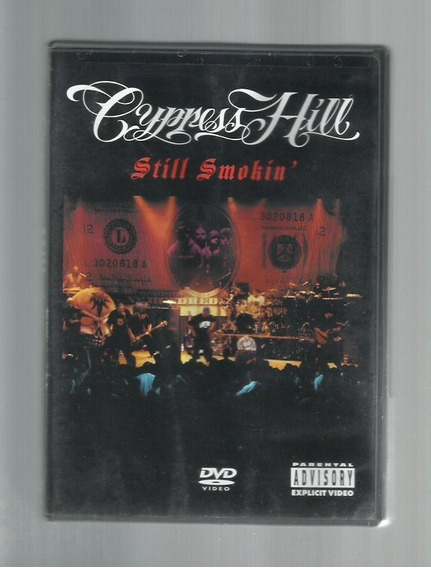 Dvd Original Cypress Hill Still Smokin - Envio Imediato