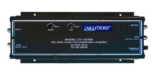 Amplificador Catv 550 Mhz 30 Db Potencia