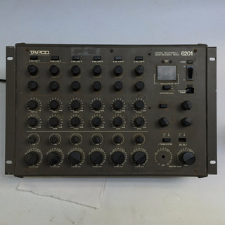 Consola Tapco 6201 1978 Mackie Preamplificadores