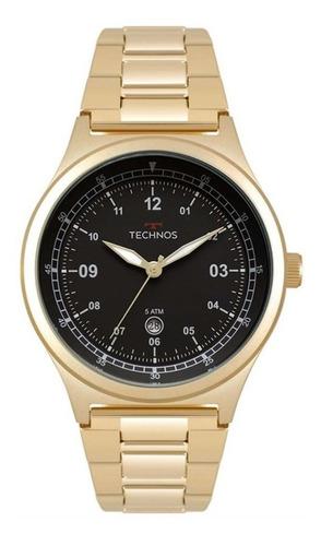 Relógio Technos Dourado Performancer Militar 2115mqy/4p