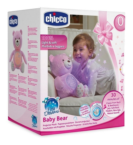 Chicco Proyector Baby Bear Rosa 80151