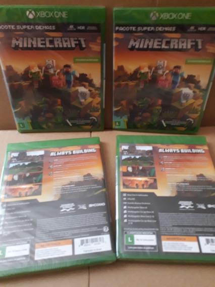 Minecraft - Xbox One Pacote Super Demais - Novo Lacrado