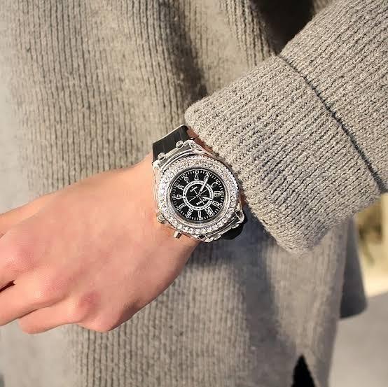Relógio Geneva Luminoso