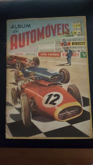 Álbum De Automóveis Ed. Vecchi 1961 Incompleto