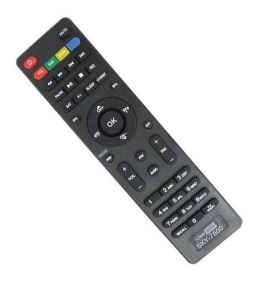 Controle Remoto Tv Ci-ne Linha Box Todos Modelos 7550