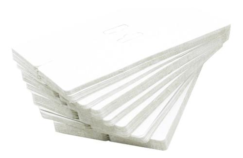 1000 Solapas Branca Para Saquinhos Transparentes  9 X 16 Cm