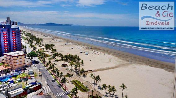 Vista-mar, 1 Dorm, Mirim, Praia Grande, R$ 158 Mil, Vap00583