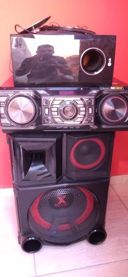 Mini System 2600w LG Bluetooth Cd E Usb
