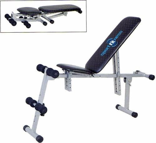Banco Ejercicio Múltiple Plegable Abdomen Gym Sportfitness