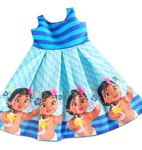 Imagen 1 de 7 de Vestidos Moana Bebe - Ig
