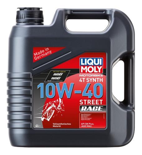 Liqui Moly Aceite Full Sintético 10w40 Street Race 4 Litros