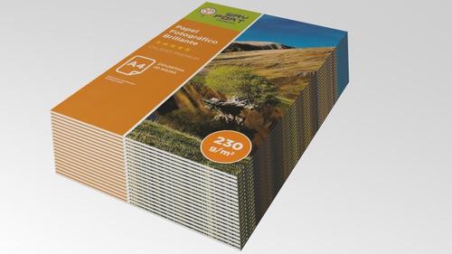 3 Paquetes Papel Fotográfico Brillo 230 Grs - 60 Hojas