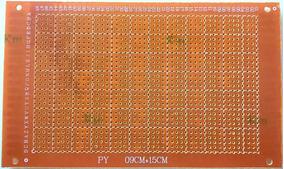 Placa Perfurada Ilhada Fenolite 9 X 15 Circuito Padrão Pcb