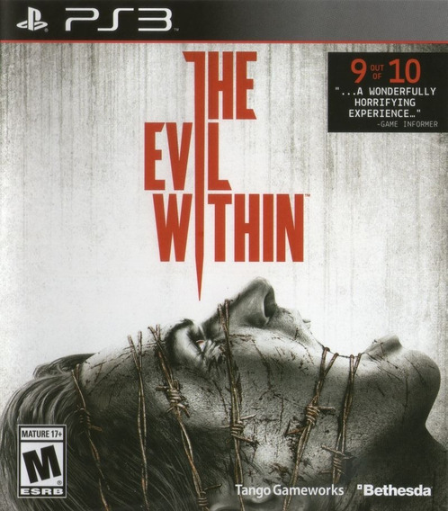 Jogo The Evil Within Playstation 3 Ps3 Pronta Entrega Game