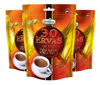 Chá Misto 30 Ervas Premium - 3x 120 Gramas - Katigua
