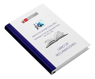 Libro Reclamaciones Para Entidades Del Estado
