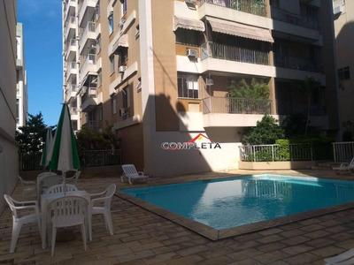 Apartamento Com 2 Dormitórios Para Alugar, 70 M² Por R$ 3.200/mês - Botafogo - Rio De Janeiro/rj - Ap3502