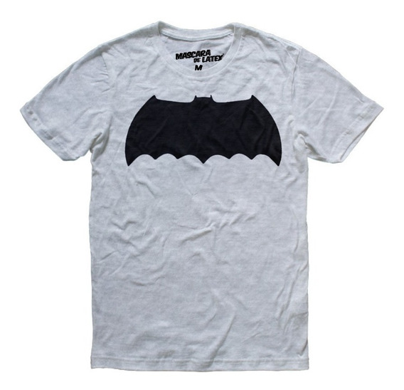 Playera Batman Tdkr Logo Hombre Dc Comics Máscara De Látex