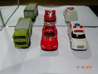 Pacote 01 - Com 2 Miniaturas Matchbox E 1 Hot Wheels B989