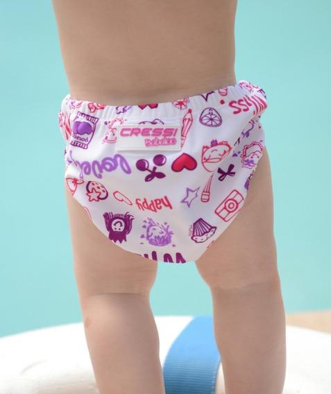 Pañal De Natacion Cressi Babaloo Diaper Print Rosa