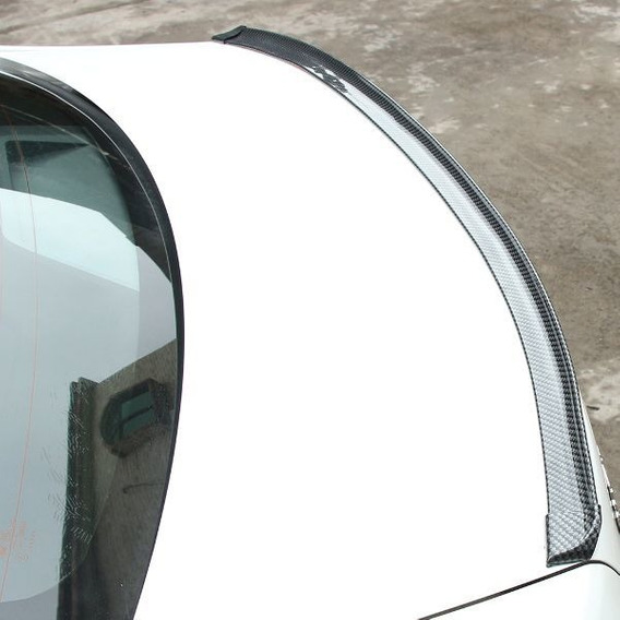Adesivo De Aerofólio Carro Universal Fibra Carbono 3m